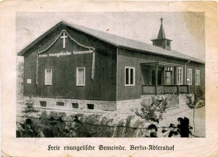 Schwedenkirche 1949